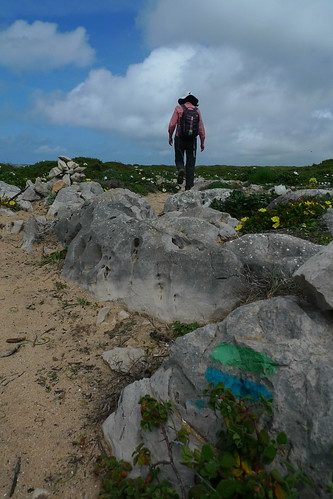 Hiking the Rota Vicentina near Sagres, Portugal
