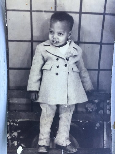My father as a toddler
