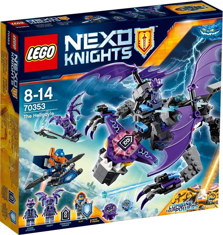 LEGO Nexo Knights Estate 2017 - The Heligoyle (70353)