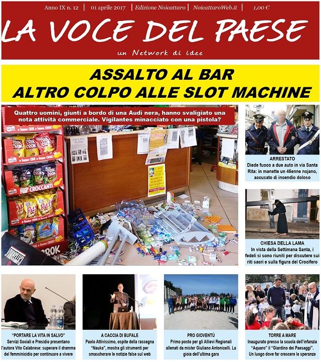 Noicattaro. Prima pagina n. 12-2017 intero