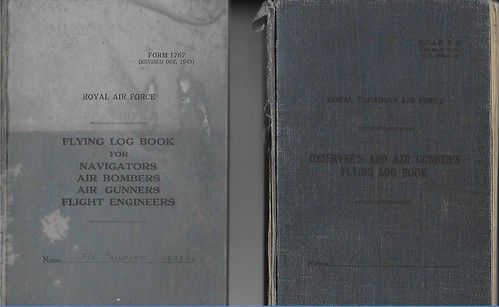 P/O J. A. Philpott - Log Books