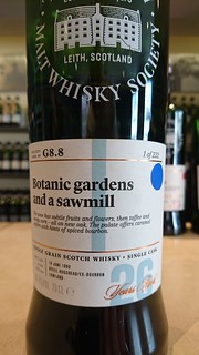 SMWS G8.8 - Botanic gardens and a sawmill