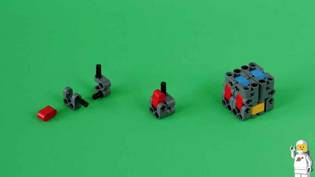 Lego Magic Folding Cube Fidget Toy Building Instructions Flickr