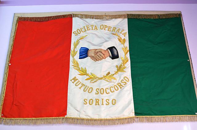 Flag, Soriso, Italy