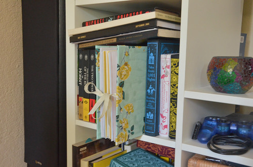 36. The book needs to be press closed somehow and allowed to dry (I placed the spine in my bookshelf).