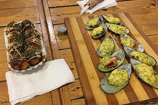 Backyard - Takoyaki Mussels