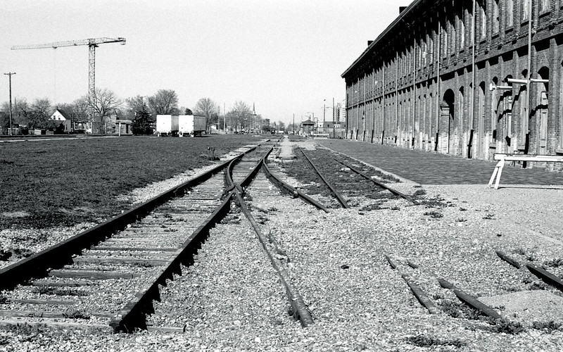 Former New York Central Tracks