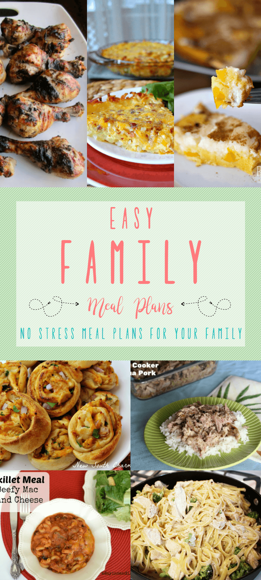 Easy Family Meal Plans