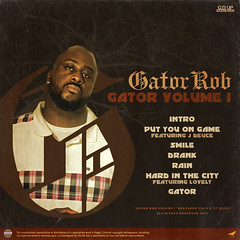 Gator Rob - Gator Vol 1 (Back)