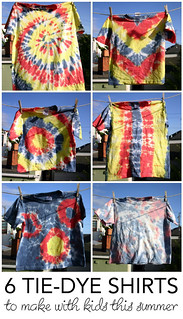 How to Make 6 Different Tie Dye Patterns | by Wendy Copley