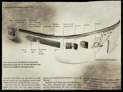 Google Glass in c't | by pppspics