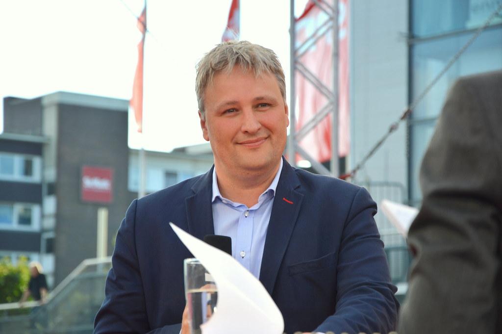 Peer Steinbrück in Kiel   Talk mit Sönke Rix, MdB   Flickr
