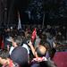 90. Yıl Yürüyüşü - Beşiktaş Girişinde Polis Barikatı
