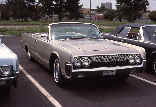 1964 lincoln continental convertible sedan flickr photo sharing. Black Bedroom Furniture Sets. Home Design Ideas