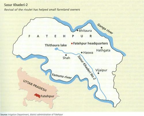 फतेहपुर जिला मानचित्र