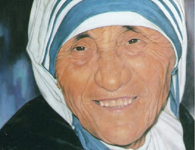 Mother_Teresa_of_Calcuta_portrait_painting_by_Robert_Pérez_Palou-640x493