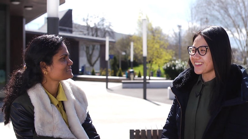 Malaysian students discuss their experiences of living and studying at the University of Bath.