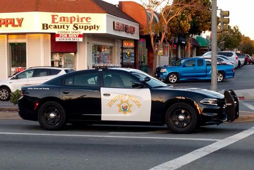 Chp New Dodge Charger In Lemon Grove California So