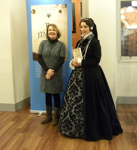 Alex Nye and Mary Queen of Scots