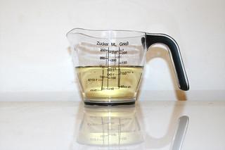 14 - Zutat trockener Weißwein / Ingredient dry white wine