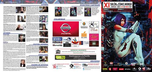 XI Salón del Cómic del Cómic y Manga de Castilla y León Programa Oficial.