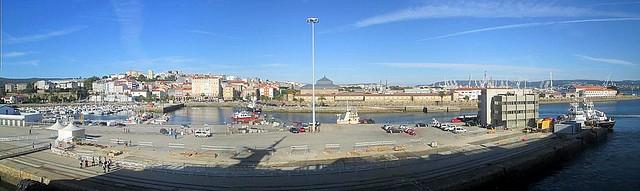 Ferrol from Ship's Berth