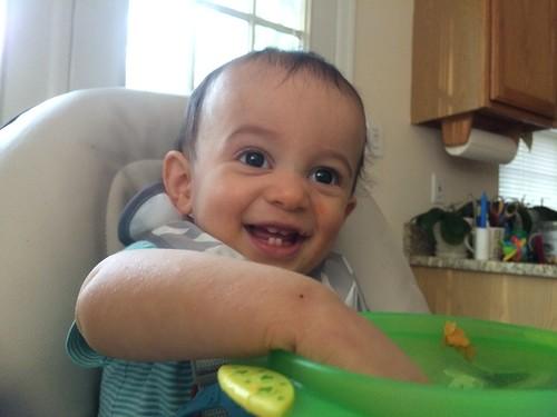 Baby Ezra, 10 months