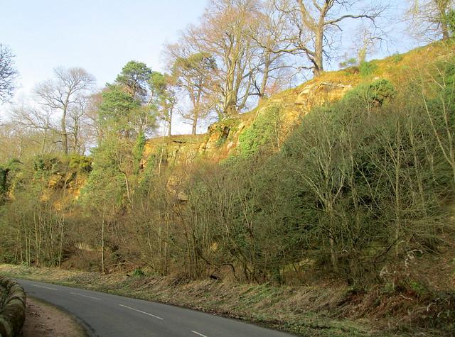 Kemback cliffs