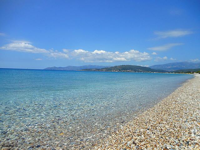 Pebbles beach, Mikali. Samos.