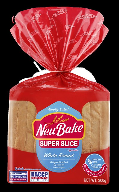 NeuBake White Bread 300g FA Jan  31