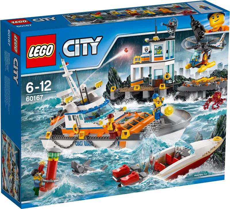 LEGO City Coast Guards Headquarters (60167)