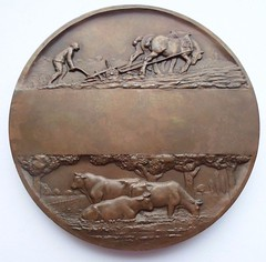French Agriculture Medal reverse
