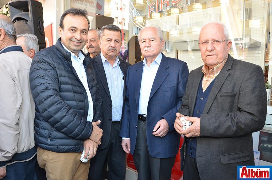 Nazmi Aldemir, Özden Özder, Hüsnü Kılınç, Mehmet Ünlü
