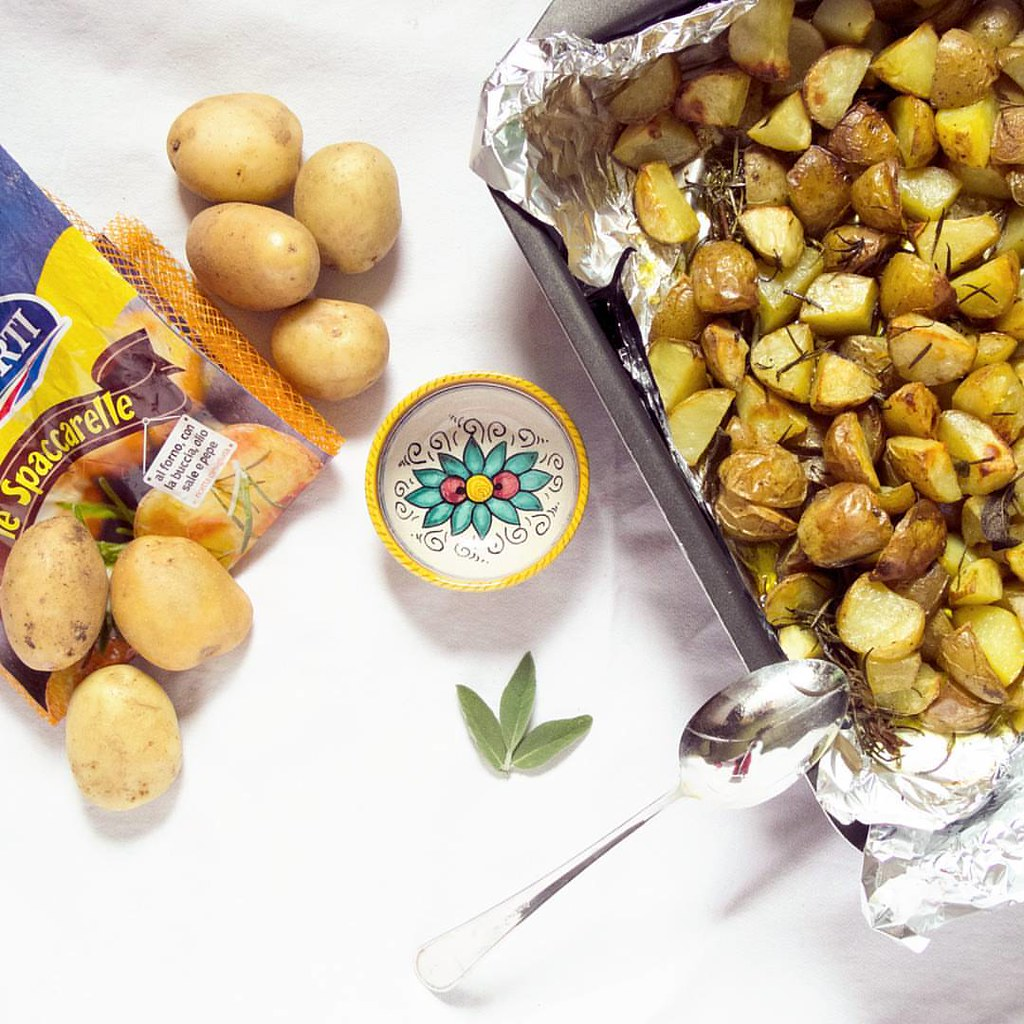 Baked Spaccarelle potatoes