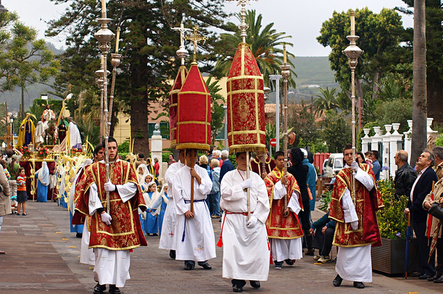 Religious procession, Semana Santa, La Laguna, Tenerife