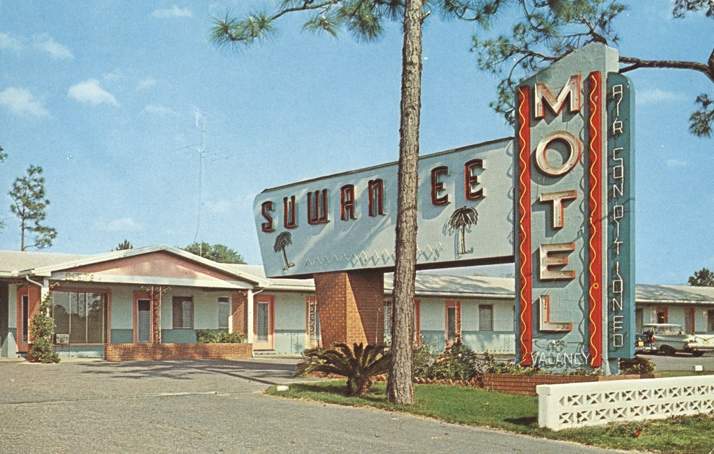 The Cardboard America Motel Archive Suwanee Motel