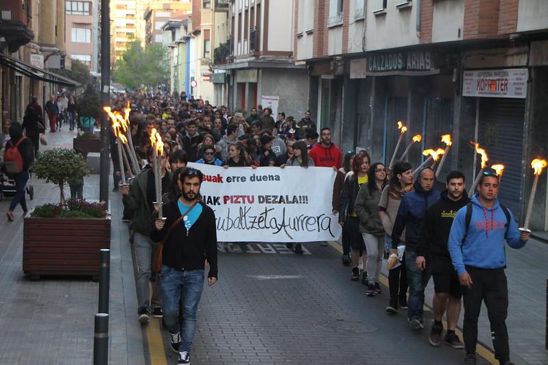 Itzubaltzeta gaztetxearen aldeko manifestazioa (2017-04-19)