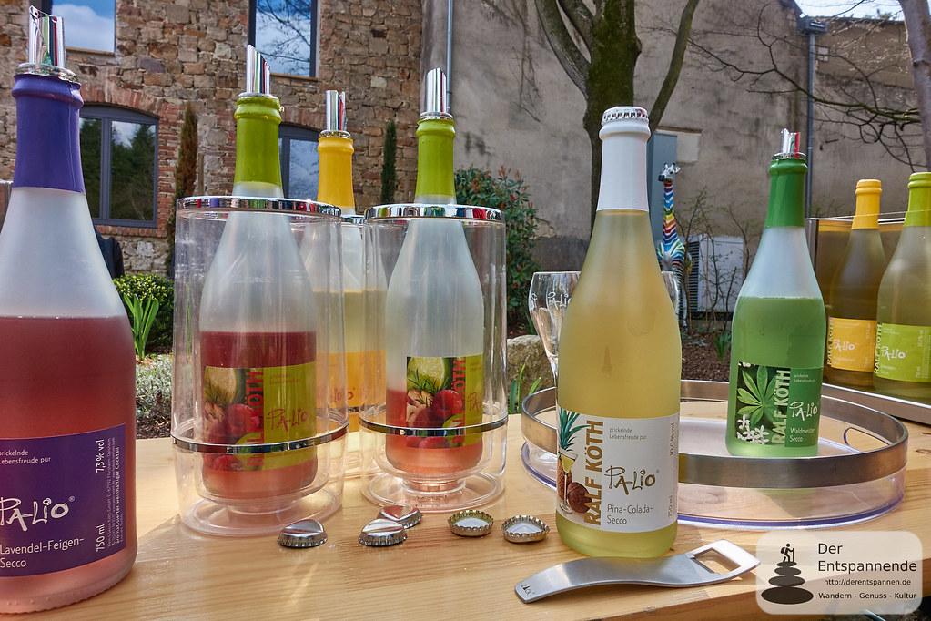 Seccoprobe mit Ralf Köth im Weingut Köth