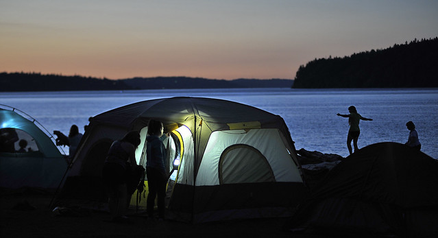 Family Campout at Owen Beach 2016