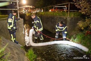 Ölverschmutzung Belzbach 30.04.17