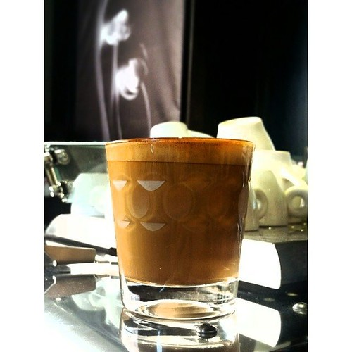 "Have you had your d'bolla espresso today? ""Red"" is On Tap and oh so delicious!"