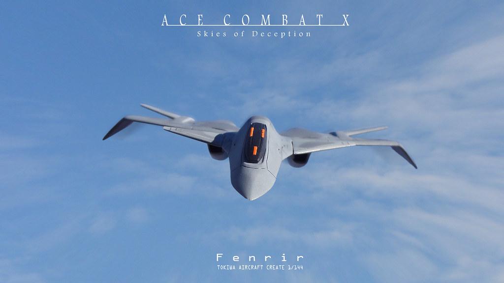 ... ACE COMBAT X : Fenrir | by みいな