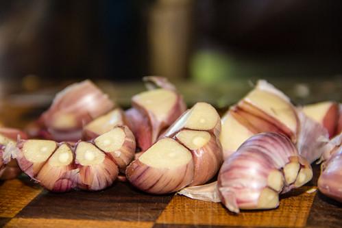 Home-grown Garlic