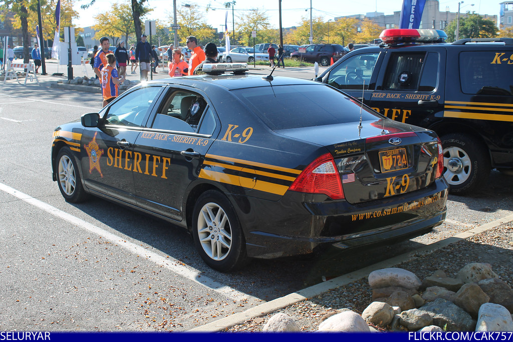 New Ford Fusion >> Summit County Sheriff K9 Ford Fusion | Seen at the Akron Roa… | Flickr
