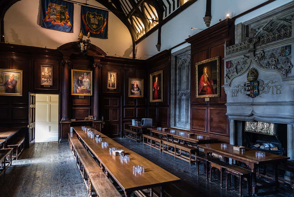 Oxford University Rooms Booking