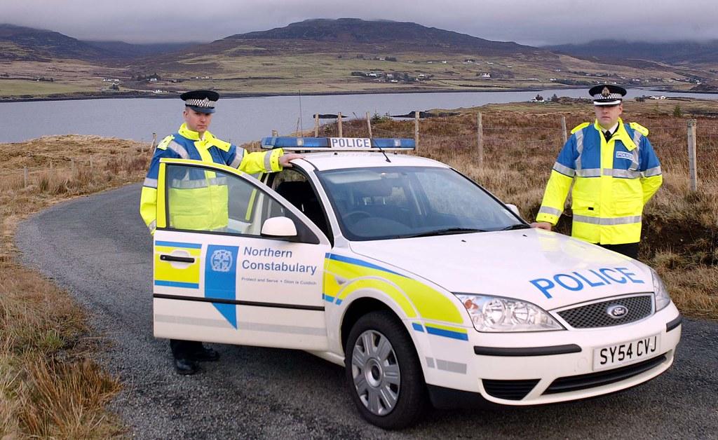 Northern Constabulary Ford Mondeo Mk3 Skye Many Thanks