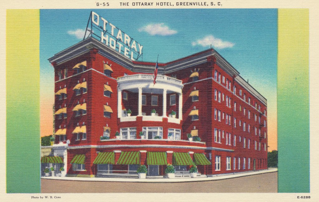 Ottaray Hotel - Greenville, South Carolina