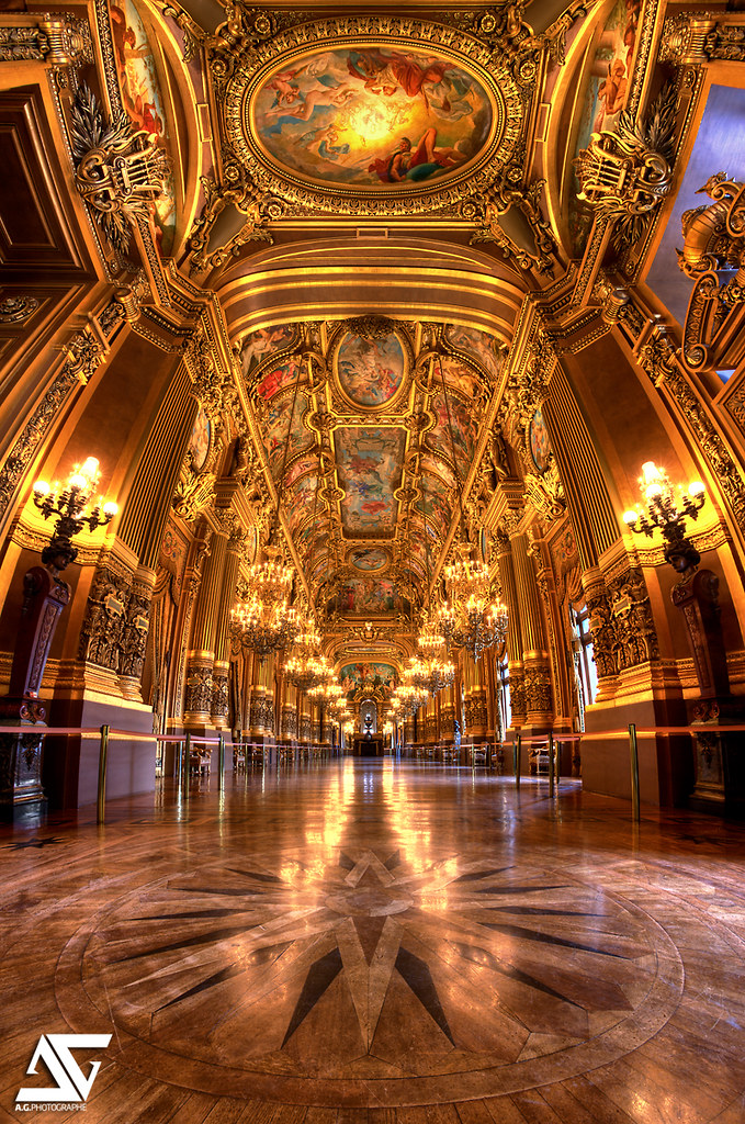 Le Grand Foyer Opera Garnier : Le grand foyer op�ra garnier paris france facebook