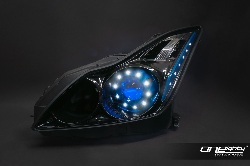 Infiniti G37 Coupe Custom Headlights This Is One Of Our