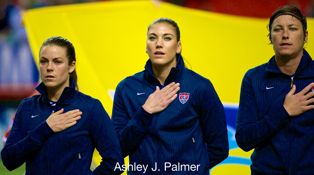 ¿Cuánto mide Hope Solo? - Altura - Real height 12531619305_271c7d5f78_b